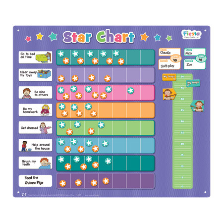 Fiesta Crafts Extra Large Star Chart