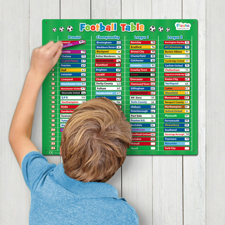 Magnetic Extra Large Football Table - Fiesta Crafts