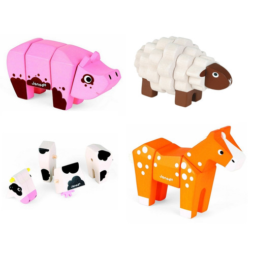 Janod Animal Kits - Farm Animals