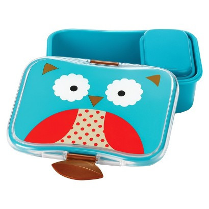 Skip Hop Owl Lunch Kit Open