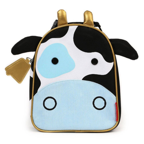 Skip Hop Zoo Lunchie Cow Front