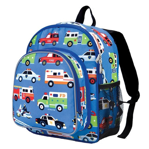 Wildkin Toddler Backpack - Action Vehicles