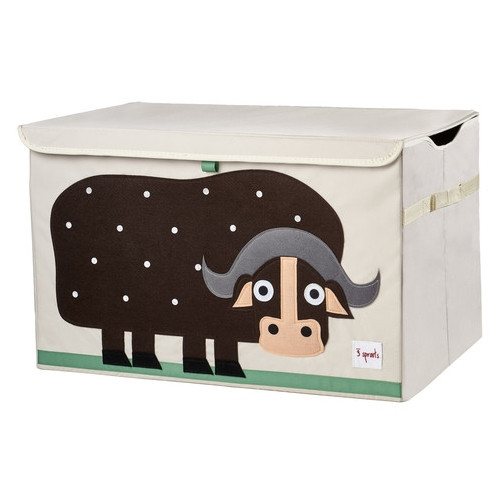 3 Sprouts Buffalo Toy Chest