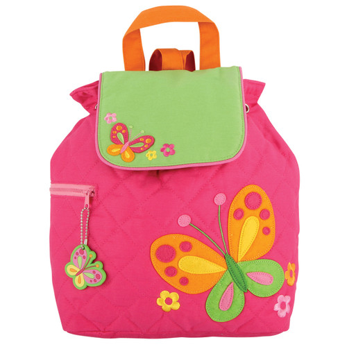 Stephen Joseph Quilted Butterfly Backpack