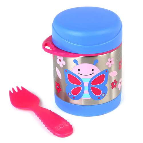 Skip Hop Insulated Food Jar - Butterfly