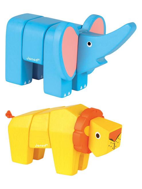 Elephant & Lion