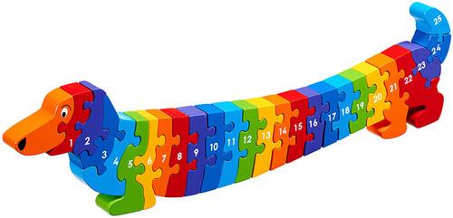 Lanka Kade Dog Jigsaw 1-25