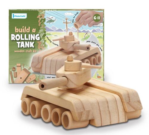 Wooden Tank Craft Kit