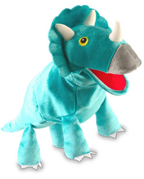 Triceratops Hand Puppet - Fiesta Crafts