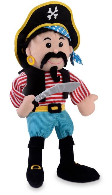 Stripes Pirate Hand Puppet - Fiesta Crafts