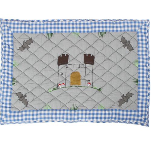 Win Green Knights Castle Floor Quilt - Small