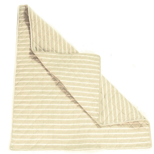 Win Green Natural Multi Stripe Wigwam Floor Quilt
