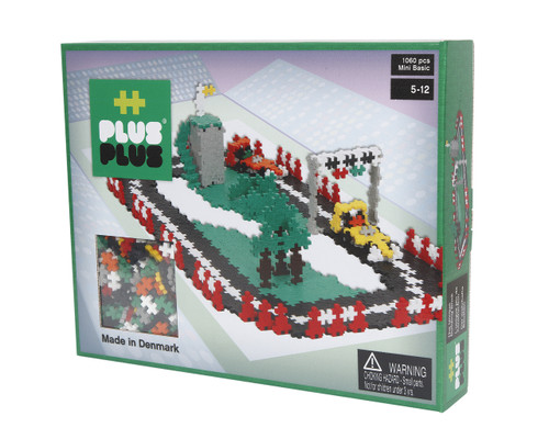 Plus-Plus Mini Basic 1060 pieces - Race Track