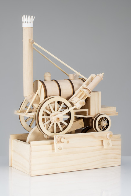 Timberkits Wooden Model Kit - Stephenson's Rocket
