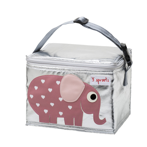 3 Sprouts Elephant Lunch Bag