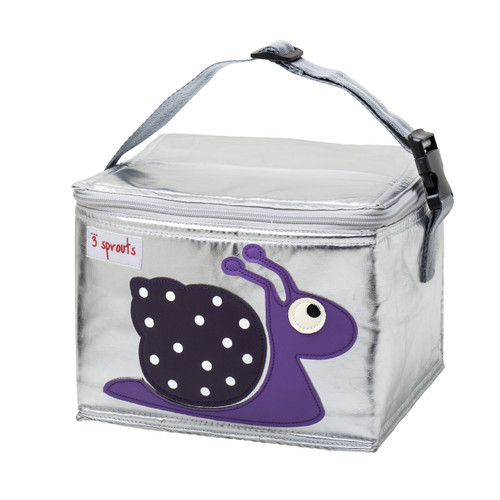 3 Sprouts Snail Lunch Bag
