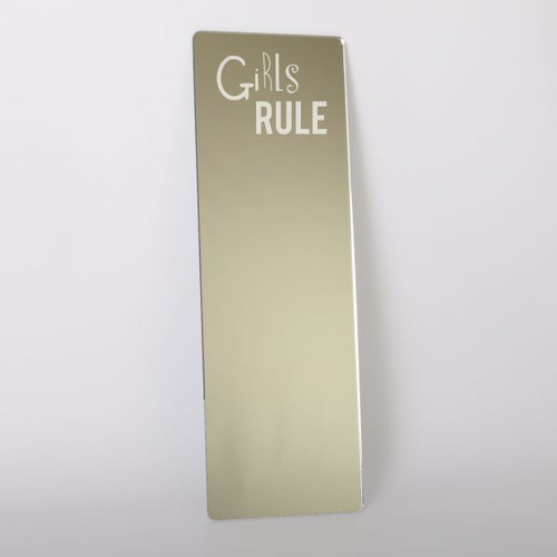 Childrens Mirrors - Girls Rule Dressing Up Mirror