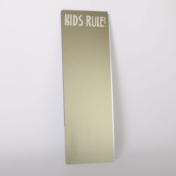 Childrens Mirrors - Kids Rule Dressing Up Mirror