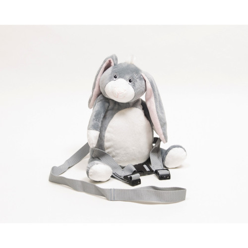 HipHop the Bunny Toddler Backpack with Reins - BoBo Buddies