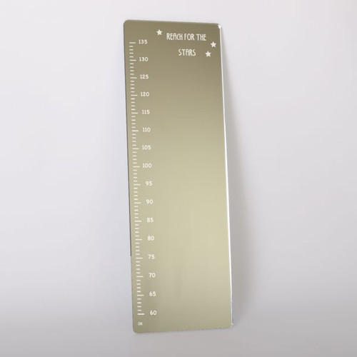 'Reach for the Stars' Height Chart Mirror