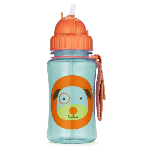 Skip Hop Straw Bottle - Dog