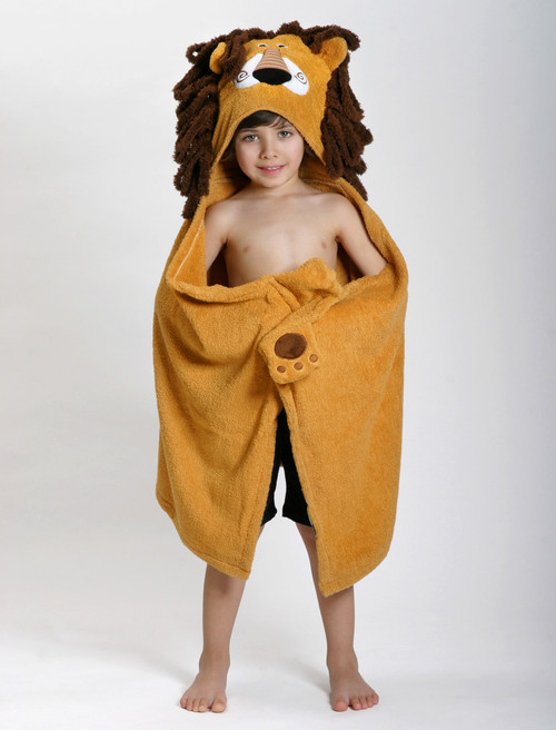 Zoocchini Hooded Towel - Leo the Lion