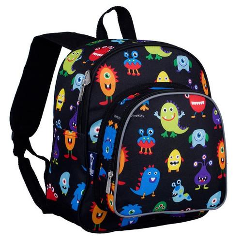 Wildkin Friendly Monsters Toddler Backpack