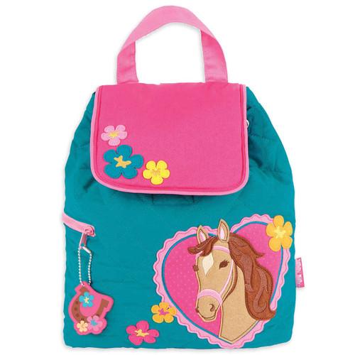 Stephen Joseph Quilted Horse Backpack - Kids Backpacks
