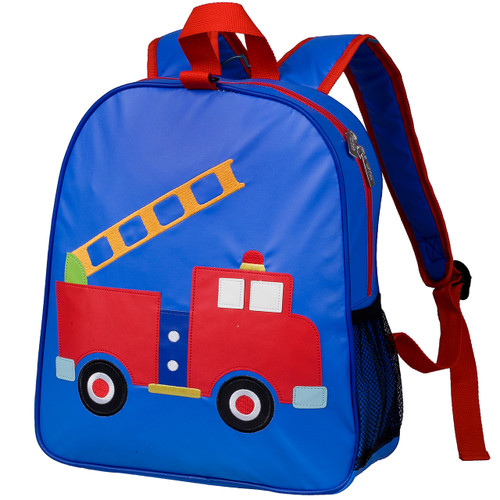 Wildkin Embroidered Fire Engine backpack