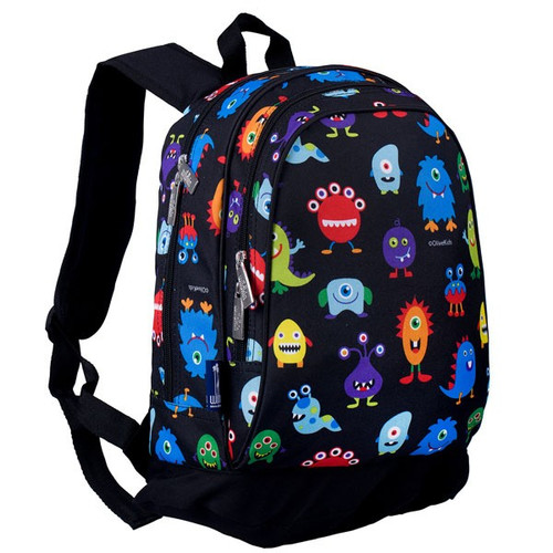 Wildkin Kids Backpack - Friendly Monsters