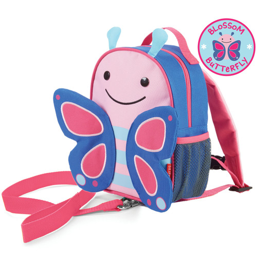 Skip Hop Butterfly Toddler Backpack with Safety Harness