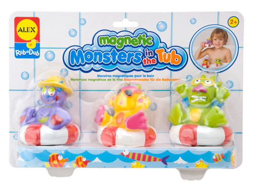 Alex Toys Rub A Dub Magnetic Monsters in the Tub