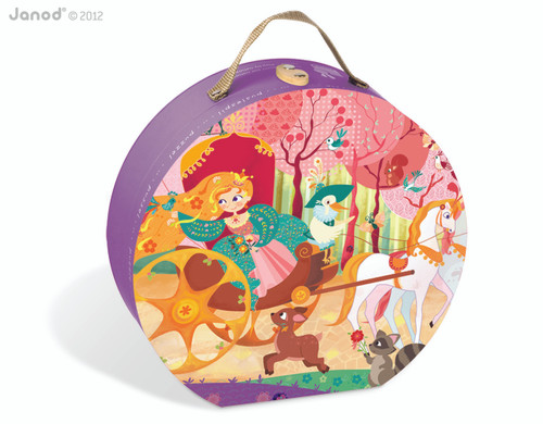 Janod Princess & the Coach Hat Box Puzzle