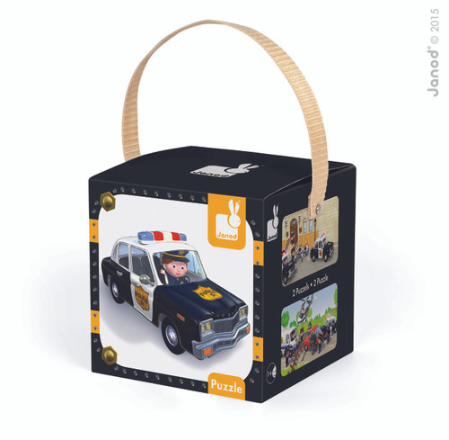 Brice's Police Car Puzzle J02767