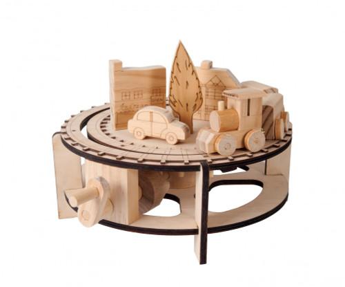 Timberkits Wooden Model Kit - Chuffy Train