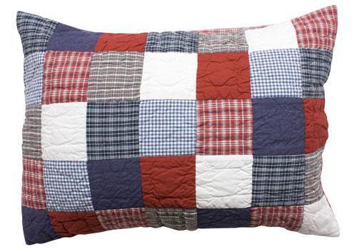 McKenzie Quilted Pillowcase - Childrens Bedding