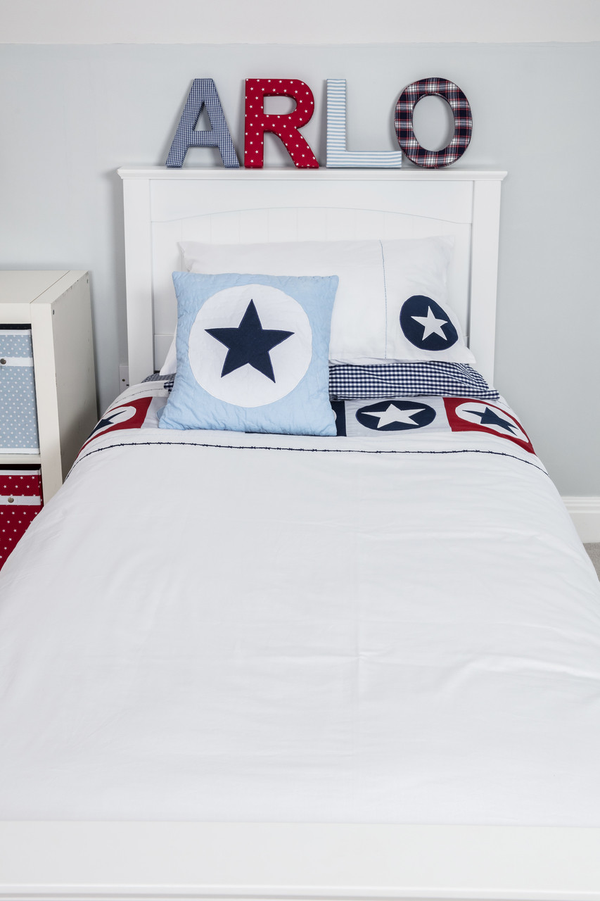 stamp cover hi duvet square star bedlinen stars foxorganickids bed lifestyle pillowcase cot potato res