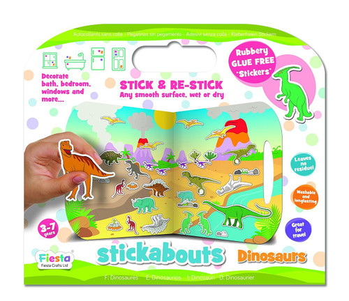 Dinosaurs stickabouts