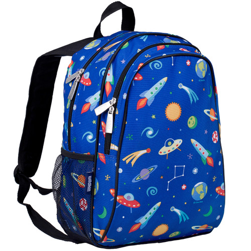 Wildkin Children's Space backpack with side pocket