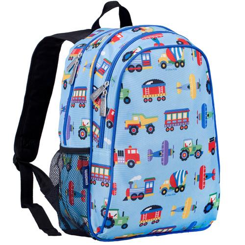 Wildkin Transport Kids Backpack with Side Pocket
