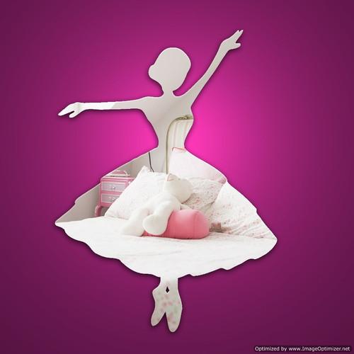 Kids Mirrors - Ballerina Mirror