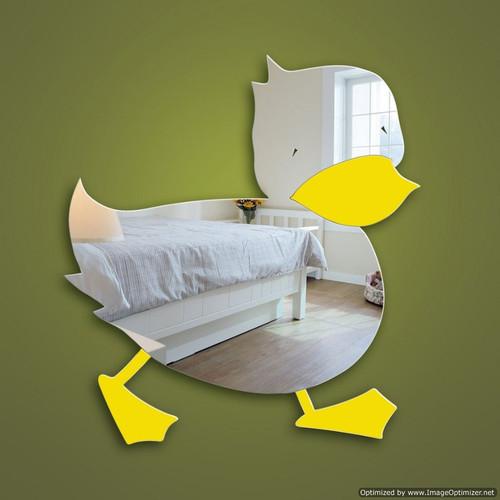Childrens Mirrors Nursery Duck Mirror Safe Acrylic
