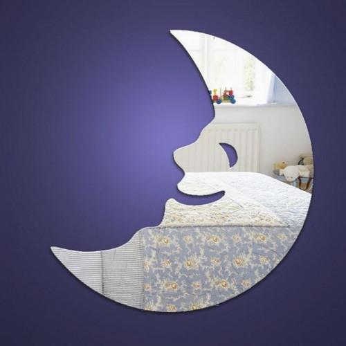 Childrens Mirrors - Happy Moon Mirror