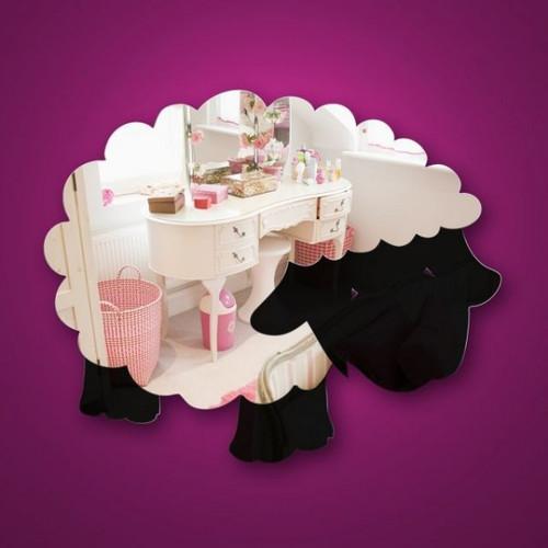 Childrens Mirrors - Woolly Sheep Mirror