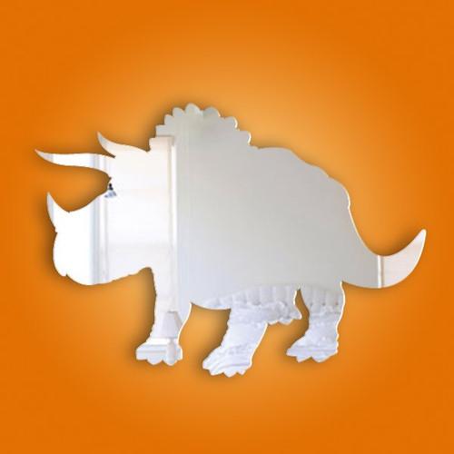 Kids Mirrors - Triceratops Mirror