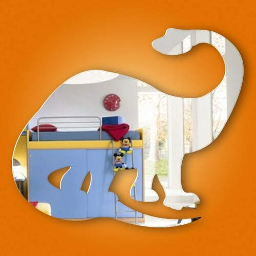 Kids Mirrors - Brontosaurus Mirror