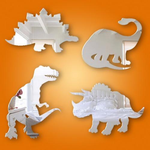 Kids Mirrors - Dinosaur Mirror