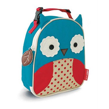 Skip Hop Zoo Lunchies Owl - Kids Lunch Box