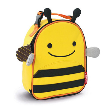 Skip Hop Zoo Lunchies Bee - Kids Lunch Box