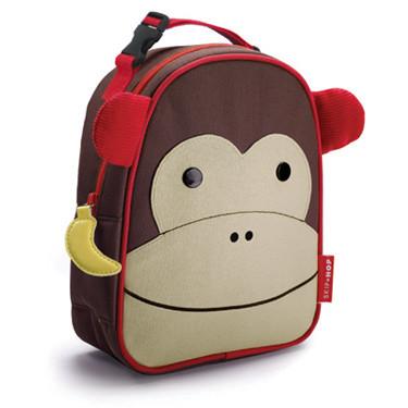 Skip Hop Zoo Lunchies Monkey - Kids Lunch Box